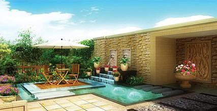 合肥喷泉水景设计新概念——庭院喷泉!